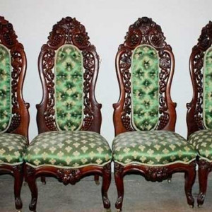 John Henry Belter Chairs